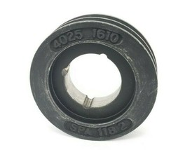 NEW GENERIC / CROSS MORSE SPA 118/2 PULLEY 2-GROOVE 2-1/4'' IN. ID 4-7/8'' IN. image 1