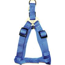 Hamilton Blue Adjustable Easy On Dog Harness 3/4 X 20-30 In 013227541546 - $27.25