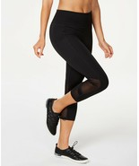 Calvin Klein Performance High Waist Side Pocket Mesh Cropped Leggings, B... - $24.57