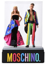 Moschino Barbie and Ken Giftset 2016 limited edition GOLD LABEL FREE SHI... - $284.05
