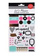 PLANNER STICKERS 323 piece set Sticker Book Get Organized - $6.99