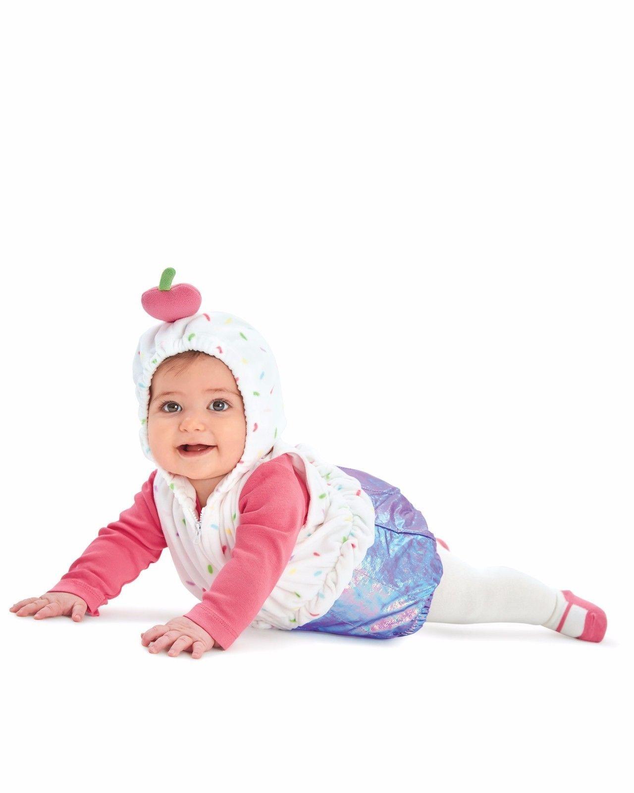 NEW NWT Girls Carter's Halloween 3 Piece Set Cupcake 24 Months Costume