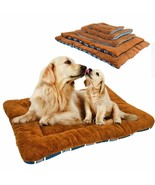Mat Dog Bed For Large Dogs Pet House Mat Kennel Winter Cat Puppy Bed War... - $15.82+