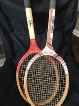 lot Vintage Spalding Ashley Cooper Signature Tennis Racket + All Pro Tournament - $18.28