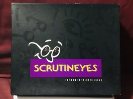 Mattel Scrutineyes The Game of Closer Looks Board Game - $57.42