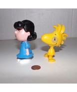 2015 McDonald The Peanuts Movie Lucy & Woodstock Action Figures - $9.99