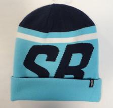 Nike SB Signature Blue Knit Cuff Beanie Adult One Size NWT - $25.98
