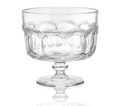 Artland 30004A Pearl Ridge Trifle Bowl, 88 oz, Glass