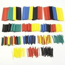 jurna 328 Pcs/lot 5 Colors 8 Sizes Assorted 2:1 Heat Shrink Tubing Wrap Sleeve - $10.99