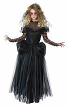 Dark Princess Halloween Costume Adult Women L  10-12 Black - $51.63