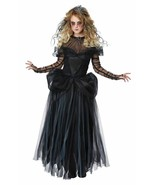 Dark Princess Halloween Costume Adult Women L  10-12 Black - $57.36