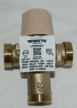 Watts Thermostatic Mixing Valve 0559116 1/2 Inch Domestic Hot Water Systems image 2