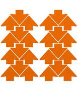 LiteMark Reflective Orange 2 Inch Trail Marking Arrows Sticker Decals - ... - $9.95