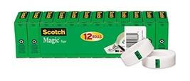 Scotch Brand Magic Tape, Numerous Applications, Matte Finish, Engineered... - €20,56 EUR