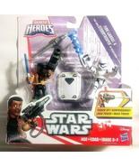 Galactic Heroes  Star Wars Finn Jakku First Order Stormtrooper Disney Ha... - $5.25