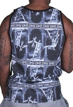 Asphalt Yacht Club Mens Black The Greek Oath Sublimation Tank Top Shirt NWT image 2