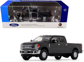Ford F-250 Crew Cab Super Duty Pickup Truck Magnetic Gray 1/50 Diecast Model Car - $69.99