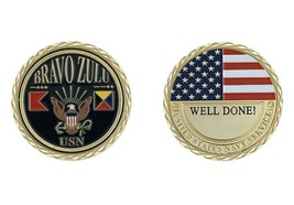 Challenge Coin U.S. NAVY BRAVO ZULU CHALLENGE COIN - $18.70