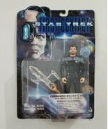 Star Trek First Contact Playmates Commander William T Riker Action Figur... - $14.01