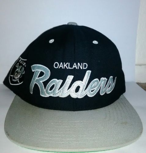 f758d0508 VINTAGE-NFL-OAKLAND Raiders HAT- SNAPBACK- and 50 similar items. 12