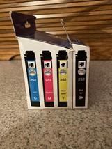 Epson 252 Ink Cartridge Black Cyan Magenta Yellow Expires Min Exp 12/2020 - $22.76