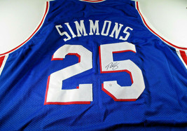 BEN SIMMONS / 2019 NBA ALL-STAR / AUTOGRAPHED PHILADELPHIA 76ERS CUSTOM JERSEY image 1