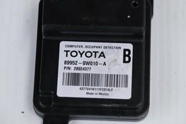 Lexus Toyota Computer Occupant Detection Module 89952-0w010-A image 2