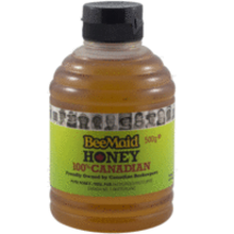Bee Maid Unpasteurized Liquid White Honey 500g 4 Tubs Truly 100% Canadian - $79.99