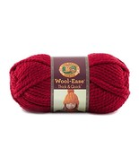 Lion  640-138 Wool-Ease Thick & Quick Yarn , 97 Meters, Cranberry - $9.03