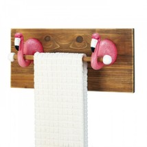 Flamingo Towel Holder - $32.68