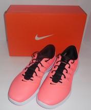 NIKE Lunar Empress 2 Womens Size 10 Golf Shoes Lava Black White New 819040-600 - $58.87