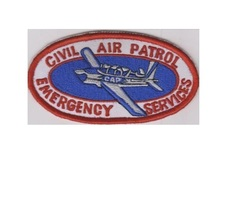 US Civil Air Patrol CAP Oval T-34 US Air Force Auxiliarry USAF AUX 4.25 ... - $9.99