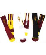 Arizona State Sun Devils 3 Piece Sport Performance Socks Bundle - $29.95