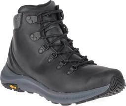 Merrell Ontario Mid Hiker Boot (Men's) in Black Full Grain Leather - NEW - $170.05