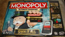 Monopoly Game: Ultimate Banking Edition Electronic Game Board - $26.00