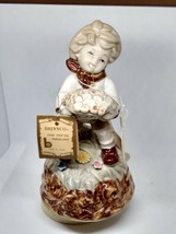 "VINTAGE BRINNCO HANDCRAFTED MUSICAL FIGURE ""EVERYTHING IS BEAUTIFUL"" POR... - $13.83"