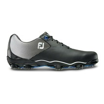 NEW! FootJoy DNA Helix Golf Shoes Men's - 53318 Black/Silver - 8 Wide - $217.68