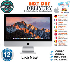 "Apple iMac 27"" Quad Core i5 2.66Ghz 8GB RAM 1TB HDD nvidia Late 2009 A G... - $583.46"