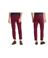 Polo Ralph Lauren Men's Prospect Straight Stretch Jeans, 32X30, Red, MSRP $98 - $54.44