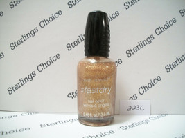 Wet N Wild Fast Dry Nail Color Polish #223C The Gold & The Beautiful - $6.30