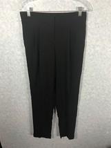 Ann Taylor LOFT Marisa Black Pleated Pants Size 00 - $18.00