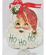 NEW Vintage Style Santa Clause Wood Christmas Holiday Ornament - $13.99