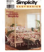 Simplicity 8037 Better Homes & Gardens Designs Bed Covers Pillow Shams U... - $9.47
