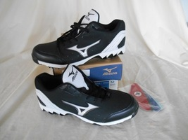 new arrival 5b46b 83511 Mizuno 9 Spike Vintage 7 Switch - 320429.9000 ( New in Box ) Black   White
