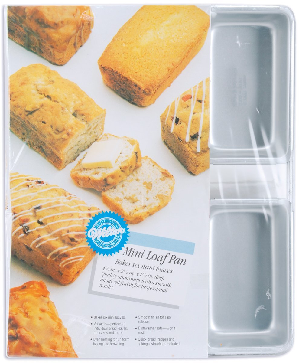 Wilton Aluminum Mini Loaf Pan - $17.99