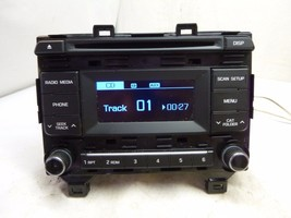 15 2015 Hyundai Sonata Radio Cd MP3 Player 96170-C20004X TM2021 - $41.58