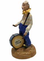 Vintage Aldon Fine Porcelain Clown Musical 1980 NY Bring In The Clowns 9... - $41.57