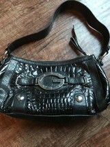 Guess Womens Carly Nicole Black Handbag Great Condition - $49.32