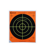 "Caldwell Orange Peel 8"" Bulls-Eye Targets 10 Sheets - ₨1,002.38 INR"