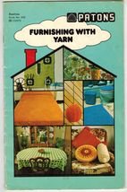 Vintage Knit Crochet Bedspread Tablecloth Bathroom Set Rug Cushion Pattern - $11.99